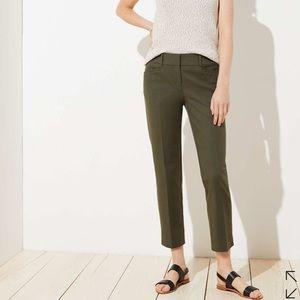 Loft Julie Fit Skinny Ankle Pants